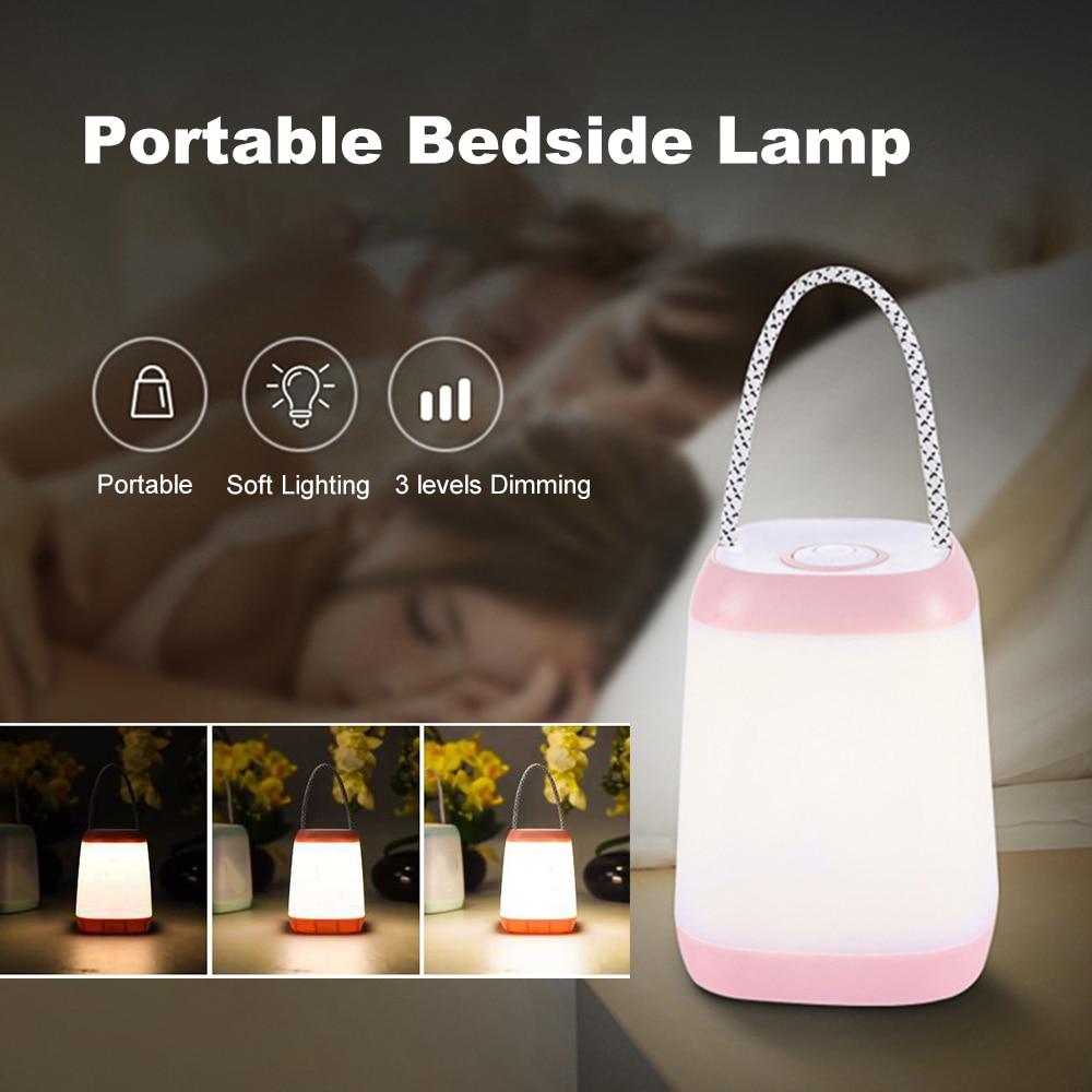Led Portable Lamp Night Light Wireless Baby Nursery Kids Bedside Mini Night Light Breastfeeding Bedroom Kids Children Mom