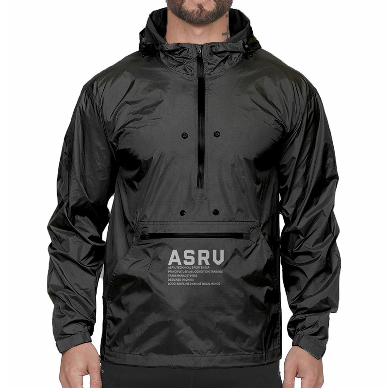 2020 New Running Jacket Men Sports Hooded Autumn Outdoor Hiking Gym Jogging Sports Coats Quick Dry Windbreaker Jackets