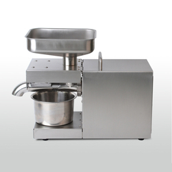 Automatic Cold/Hot Oil Press Machine with Temperature Control Household Oil Extraction Presser for Peanut Coconut Sesame