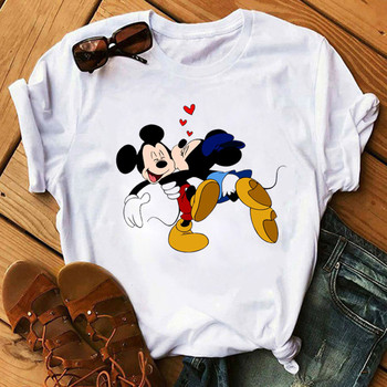 2020 New Women's Brand Clothing Summer T Shirt Casual Funny Mouse Tops Tees Short Sleeve O-neck Harajuku Female Ladies T-Shirt женские блузки и рубашки shirt new brand 2015 o