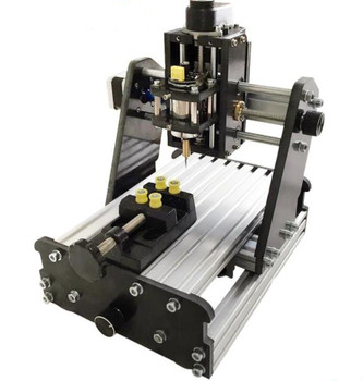 3Axis CNC Router Mini Laser Engraver Wood PCB Milling Engraving 775 Motor Kit Unfinished