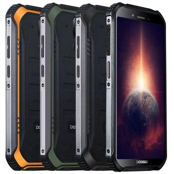 Перейти на Алиэкспресс и купить DOOGEE S40 Pro глобальная версия 5,45 дюймов IP68/IP69K Водонепроницаемая NFC Android 10,0 4650mAh 13MP двойная задняя камера 4 Гб 64 Гб Helio A25