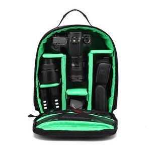 Image 4 - ZK40 Dropshipping Waterdichte Video Digitale Dslr Tas Multi Functionele Camera Rugzak Outdoor Lens Bag Case Voor Nikon/Voor canon
