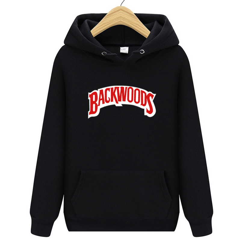 Arrival BACKWOODS Hoodies Men Sweatshirts 2019 Autumn Winter Fleece Sweatshirt Fashion Hipster Sportsuit Tracksuit Male Hoody