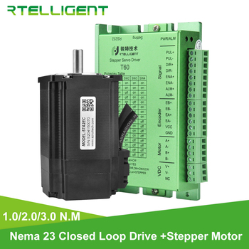 3pcs lot ma860h cnp driver stepper motor controller board for nema 23 34 42 2 0 7 8a ac18 80v or dc24 110v 2 4 phase Rtelligent 57mm Nema 23 Stepper Motor 1 2 3 N.M with Nema 23 24 Closed Loop Stepper Motor Driver Easy Servo Driver Encoder cable