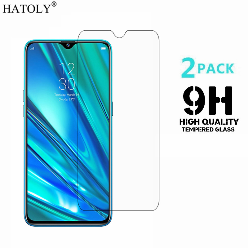 2PCS Tempered Glass For OPPO Realme 5 Pro Ultra-thin Screen Protector For OPPO Realme 5 Pro Protective Film OPPO Realme Q Glass