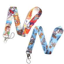 Ремешок для ключей с кошкой и мышкой телефона крутой ремешок