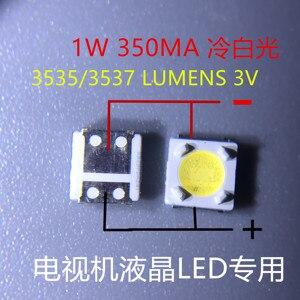 Image 3 - 2000 stücke LUMEN LED SMD 3535 3537 1W 3V Kühles weiß Lcd hintergrundbeleuchtung für TV A129CECEBP19C 4JIAO