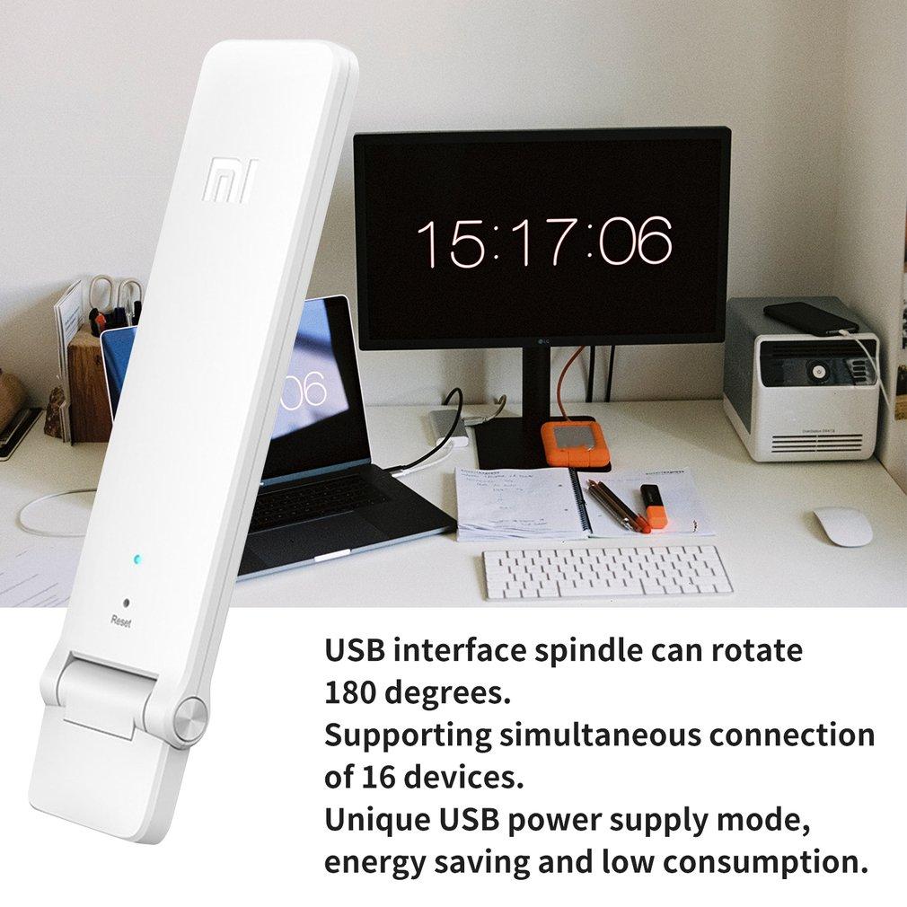 Xiaomi wifi повторитель 2 усилитель расширитель 2 Универсальный Repitidor wifi удлинитель 300 Мбит/с 802.11n беспроводной wifi Расширенный сигнал