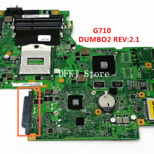 DUMBO2 Main board REV:2.1 rPGA947 Fit per Lenovo G710 Notebook PC scheda madre Del Computer Portatile, chip grafico N15V-GM-B-A2 2GB GT820M