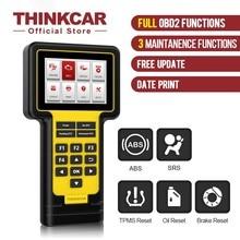 Thinkcar Thinkscan 600 OBD2รหัส ABS/SRS วินิจฉัยเครื่องสแกนเนอร์รถน้ำมัน/TPMS/เบรครีเซ็ตเครื่องมือวินิจฉัยทั้งหมดอายุการใช้งานฟรี