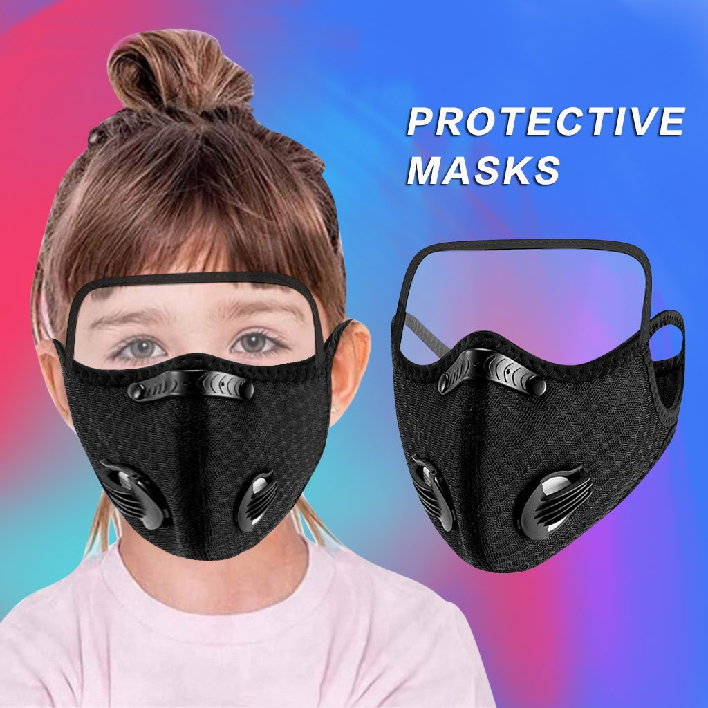 PM2.5 Breathable Mouth Mask Unisex Face Mask Protection Mask For Men Women Black Fashion Face Mask 2021 Drop Shipping