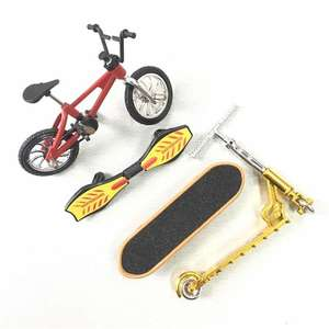 Mini Scooter Two Wheel Scooter Children's Educational Toys Finger Scooter Bike