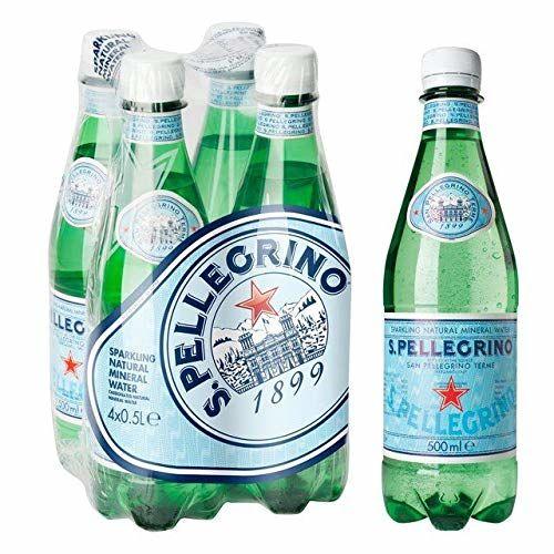 San Pellegrino Acqua Minerale Naturale Frizzante (4X500ml) (Confezione Da 2)