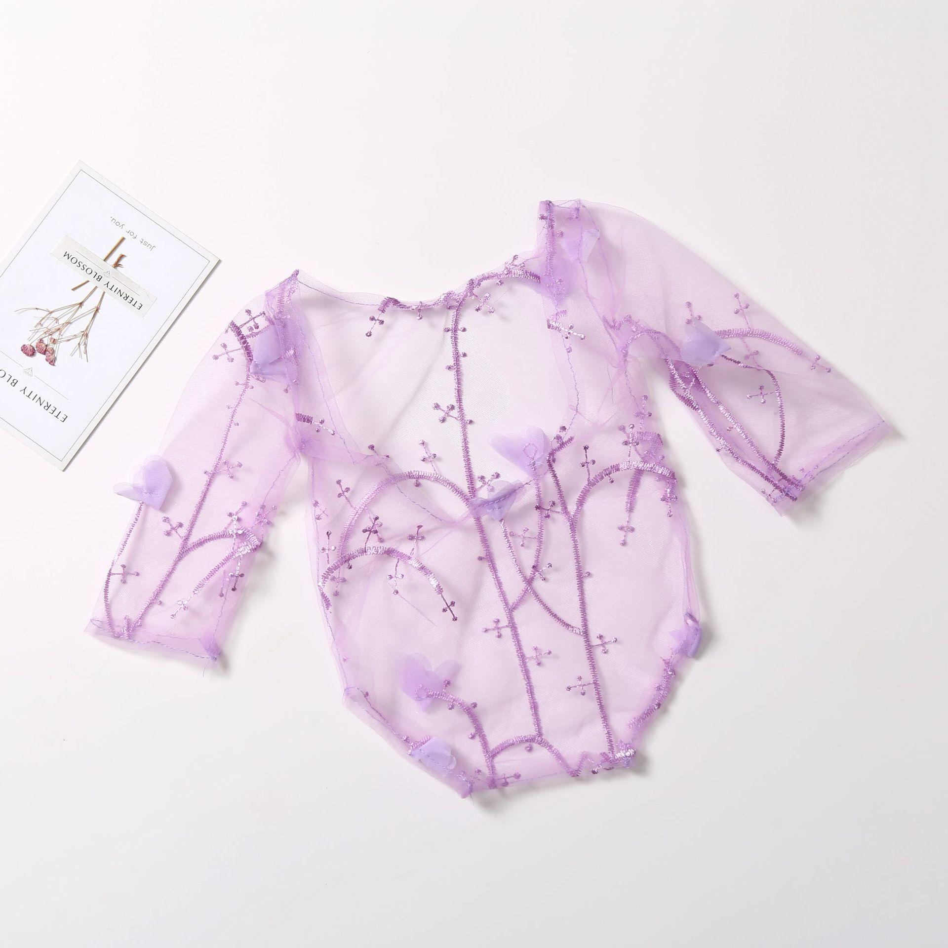 Newborn Photo Props Clothes  Semi-permeable Cute Romper Children's Jumpsuit CHD20236