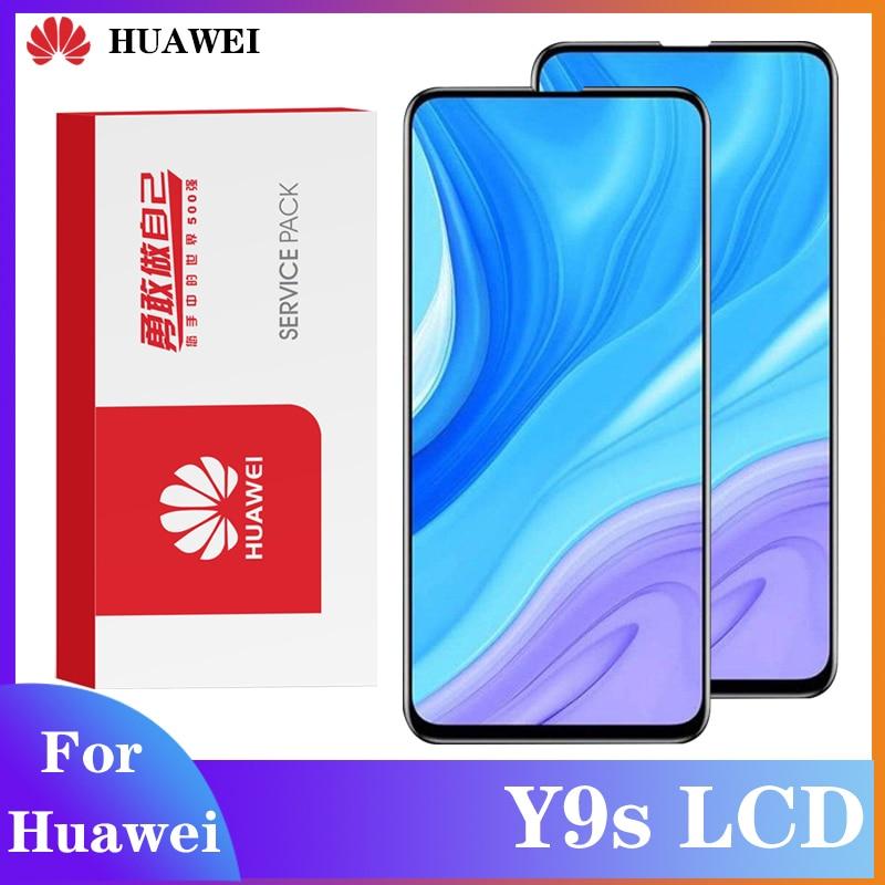 Оригинальный экран для Huawei Y9S ЖК-дисплей с цифрователем сенсорного вода сенсорный дисплей применяется к Huawei Y9 s STK-L21 STK-LX3 STK-L22