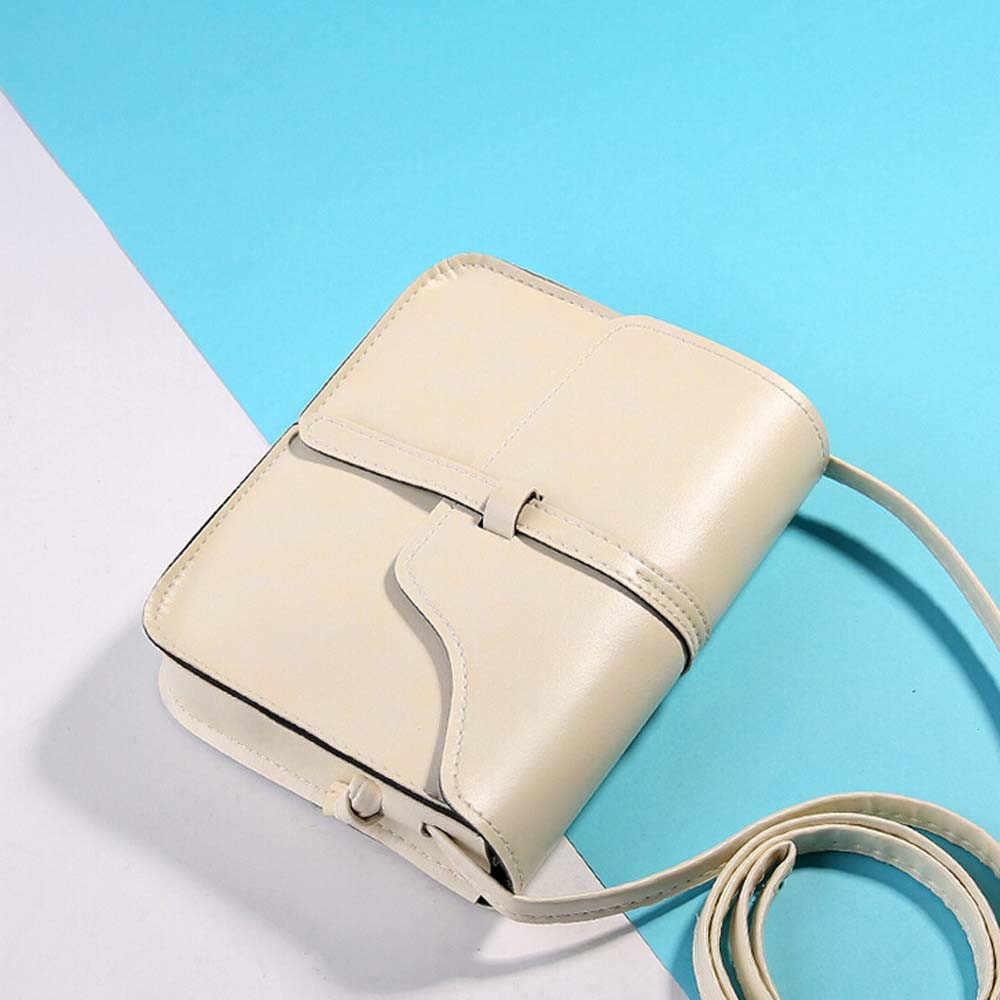 Novo vintage mulheres aleta moda casual couro sacos de ombro senhora crossbody mensageiro saco elegante envelope embreagem bolsa