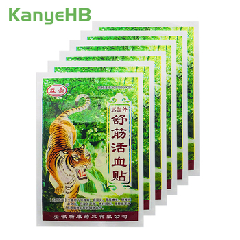 48pcs/12bags Tiger Balm Pain Relief Patches Back Muscle Arthritis pain Sticker 100% Original Natural Herbal Medical Plaster A013 new thai herbal massage chamois balm oil relief paralysis muscle pain tinnitus colds free shipping