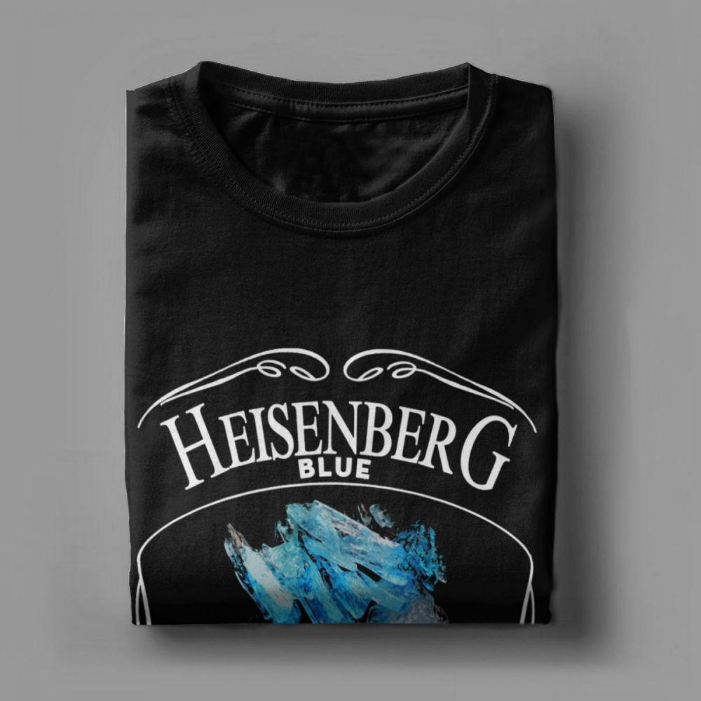 Heisenberg Blue 99.1% Pure Breaking Bad T-Shirt Summer Style Mens T Shirts Tops O Neck 100% Cotton Short Sleeves Print Tees