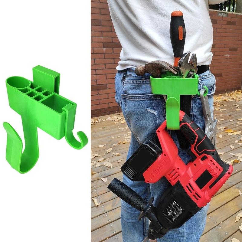 Hardware Tool Bags Electrician Tool Holder Belt Professional Eletric  Drill Clip Tools Bag Waist Pocket Plastic Waist Tools Hook