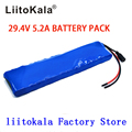 LiitoKala 24V 5.2Ah 7S2P 18650 Батарея Li-Ion Батарея 29 4 Электрический велосипед мопед/Электрический не включает в себя зарядное устройство