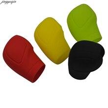 Case Auto-Shift-Knob-Cover Handbrake Grip Gear-Head Collars Jingyuqin 5-Color Silicone