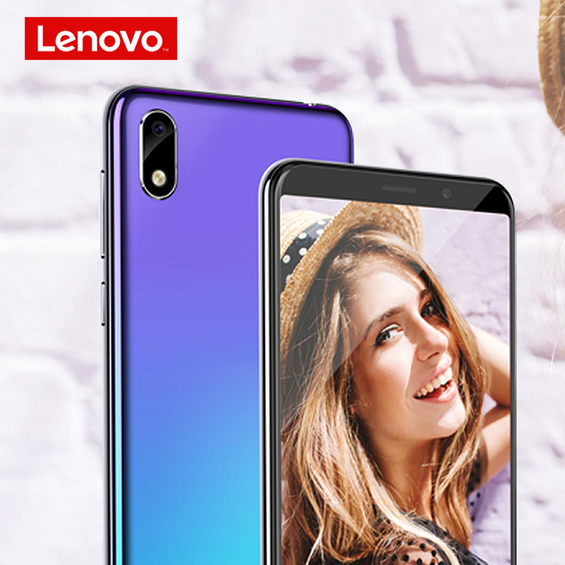 Image 4 - Lenovo Smartphone A5S 5.45 Inch MTK6761 Quad Core Mobile Phone 2GB 16GB Android 9.0 Face Unlock 4G Phone 3000mAh-in Cellphones from Cellphones & Telecommunications