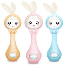 Baby Music gryzak grzechotka dla dziecka 0 12 edukacja mobilne łóżeczko dla dzieci dzwonek do łóżka noworodek wózek kołyska smoczek dla niemowląt płacz łza