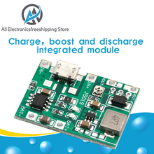 Kit-Parts Battery-Charger-Board Boost-Module Dc-Dc-Step-Up TP4056 Lithium Li-Ion 18650 3.7v