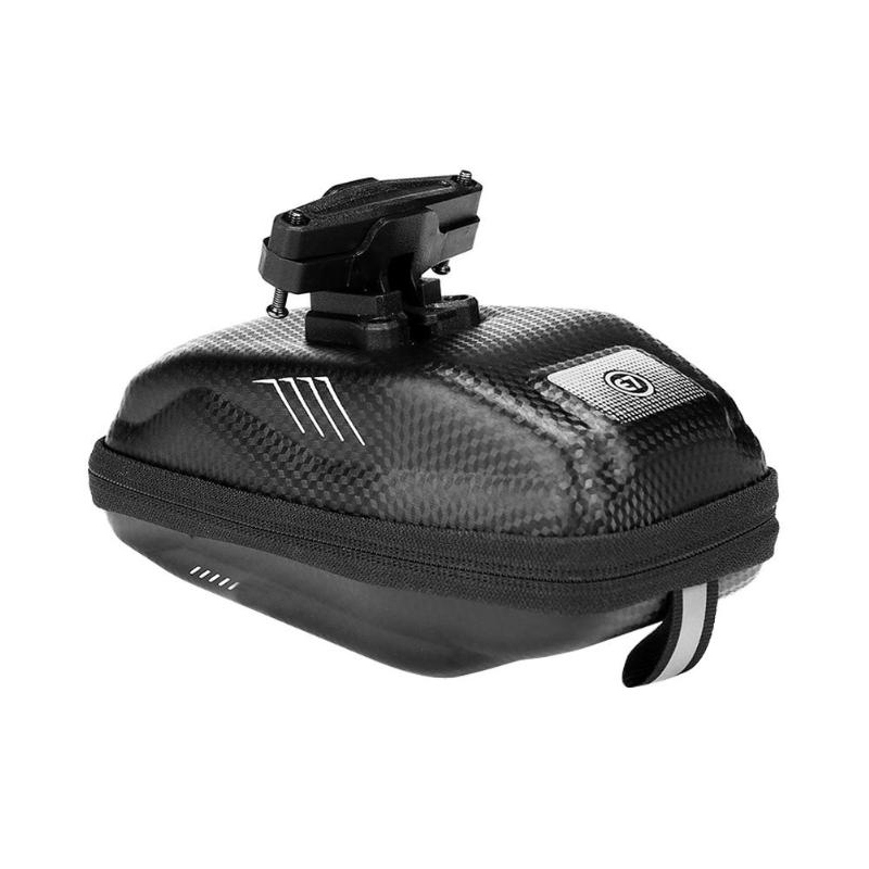 Bicycle Waterproof Saddle Bag Under Seat Storage Tail Pouch Cycling Rear Pack