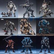 Joytoy livre homem ação robô aço osso pesado poder de fogo mecha coleção modelo brinquedos presente natal