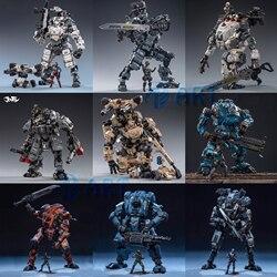 JOYTOY Бесплатная Двигающаяся фигура робот со стальными косточками тяжелой огневой меха Коллекция Модель игрушки подарок на Рождество
