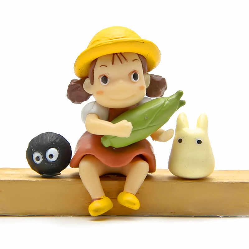Anime Hayao Miyazaki Ponyo On The Cliff Chaveiros esmalte saco carro pingente Chaveiro Acessórios de moda Jóias