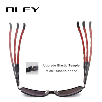 OLEY Brand Polarized Sunglasses Men New Fashion Eyes Protect Sun Glasses With Accessories Unisex driving goggles oculos de sol 6