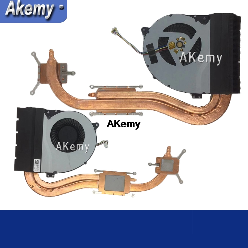 New Heatsink Fan For ASUS X550J X550JD X550JK X550JX X550JF R510J A550J FX50J K550J W50J CPU Cooling Fan Radiator