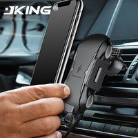 Wireless Car Charger Mount for Huawei P30 Pro Samsung S10 Plus iPhone X Xs Max Auto Clamping Qi Fast Charging Air Vent Holder