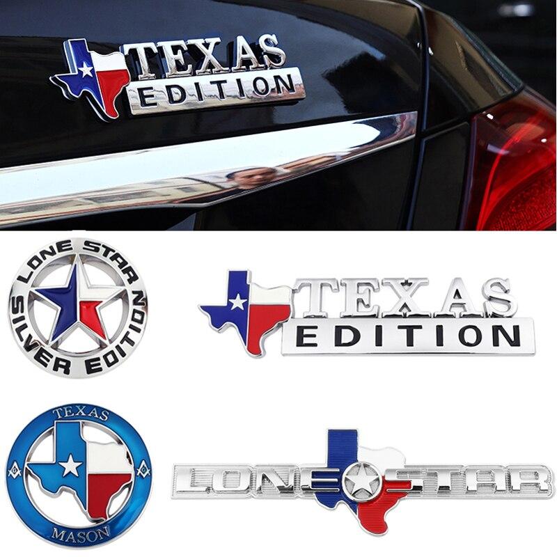 Металлический одинокая звезда Техас эмблема «Edition» для Jeep Grand Cherokee и Renegade Patriot Compass Wrangler Liberty колес техники высокой проходимости, автомобильн...