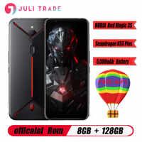 Global versio Original ZTE nubia magia roja, 3S teléfono móvil Snapdragon 855 8GB RAM 128GB ROM 6,65 AMOLED 5000mAh juego teléfono