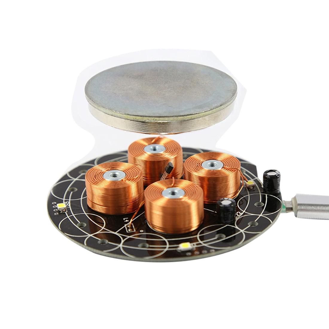 Magnetic Levitation Module DIY Maglev Furnishing Articles Kit Load-Bearing 500g For Kids Developmental Early Educational Toys