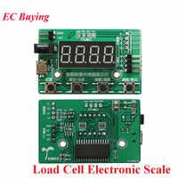 Wägezelle HX711 AD Modul Gewicht Sensor Digital Display Elektronische Waage Druck Sensoren 1KG 5KG 10KG 20KG Instrument