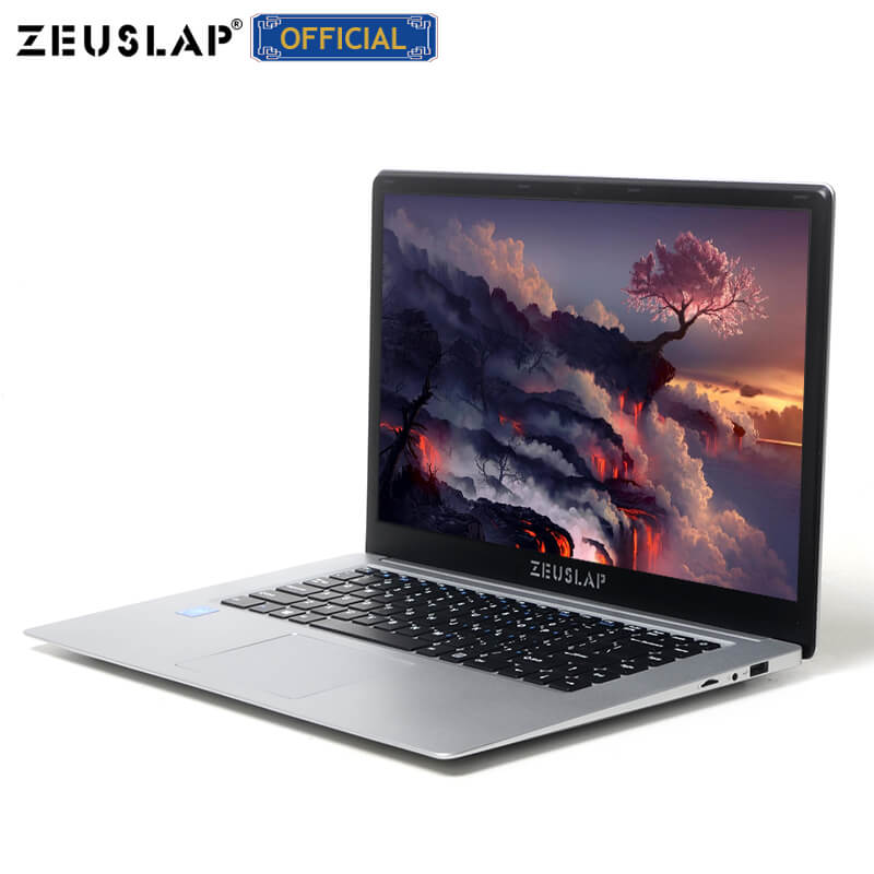 ZEUSLAP 15.6inch Intel Quad Core 4GB RAM+64GB eMMC Windows10 Dual Band Wifi 1920*1080P FHD IPS Netbook Laptop Notebook Computer 1