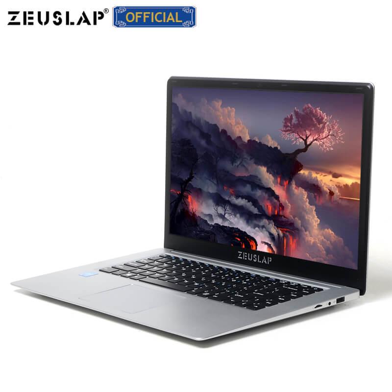 ZEUSLAP 15.6inch Intel Quad Core 4GB RAM+64GB EMMC Windows10 Dual Band Wifi 1920*1080P FHD IPS Netbook Laptop Notebook Computer