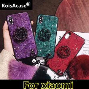 Чехол для телефона KoisA, роскошный эпоксидный зеленый/фиолетовый чехол для телефона чехол для Redmi 5 Plus 4A 4X 5A 6A 6 7 7A Note 4 5 6 7 S2 Note8 go K20 Pro, мягкий чех...
