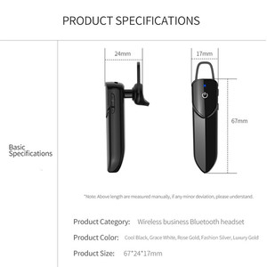 Image 5 - KEBIDU V19 Bluetooth Wireless Earphone With Mic Handsfree Earphone Headphone Sport Waterproof Wireless Bluetooth 4.2 Headphones