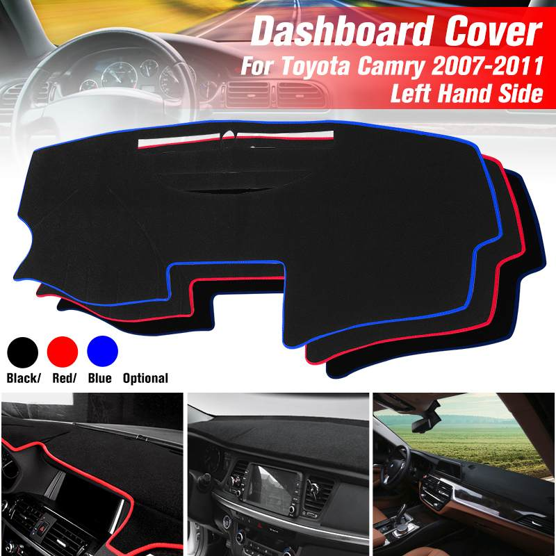 Car Dashboard Cover Dash Mat Dash Pad Dashmat Anti-slip Carpet Auto Accessories For Toyota Camry 2007 2008 2009 2010 2011