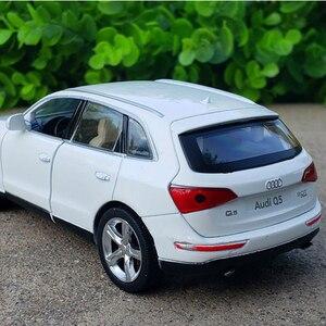 1:32 Audi Q5 сплав металлическая модель автомобиля игрушка инерция качели автомобиль вокальный модель игрушка Коллекция детская игрушка подарок мотель игрушки|Наземный транспорт|   | АлиЭкспресс