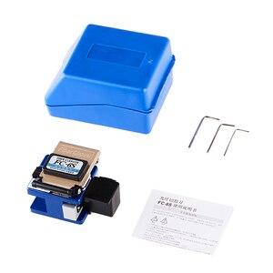 Image 4 - 4 adet FC 6S Fiber Metal malzeme Cleaver optik konnektör Fiber optik Cleaver FTTX FTTH ücretsiz kargo