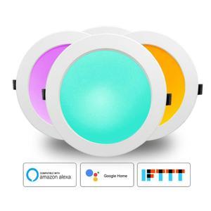 Image 1 - المنزل الذكي LED النازل أتمتة واي فاي التبديل ضوء لمبة العمل مع أليكسا جوجل مساعد المنزل الحياة الذكية تويا APP