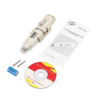 BENETECH Feuchtigkeit Temperatur Daten Logger Meter LCD Digital Auto USB Flash Disk Stift Typ Recorder Thermometer-in Temperaturinstrumente aus Werkzeug bei