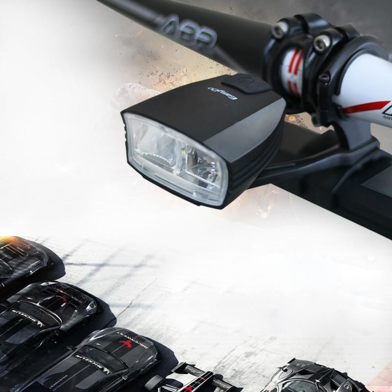 Easydo Smart Hoge/Dimlicht Fiets Licht Schakelaar Intelligente MTB Racefiets Stuur Koplamp USB Oplaadbare Voor LED Lamp - 2